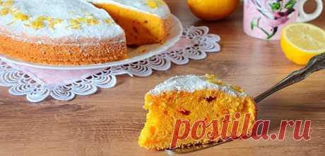 Морковный пирог: простые пошаговые рецепты