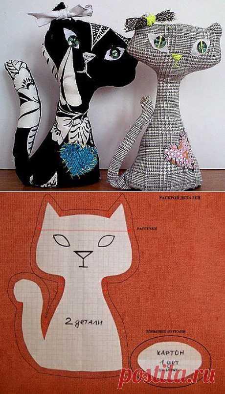 Мягкая игрушка кот своими руками | My Milady
