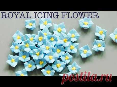 Королевские глазури из цветов, как сделать гортензию.
