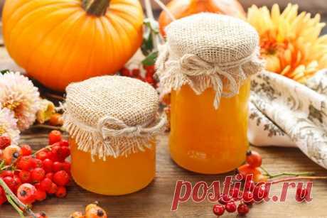 Тыквенный мед, рецепт приготовления / Простые рецепты