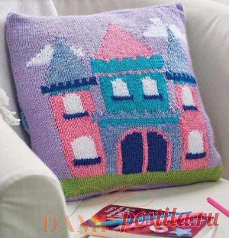 Детская подушка для маленьких принцесс   DAMские PALьчики. ru