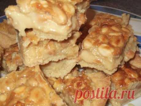 Как приготовить орехово-карамельное блаженство  - рецепт, ингредиенты и фотографии