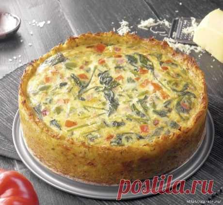 Картофельный пирог «Драник» с вкуснейшей начинкой