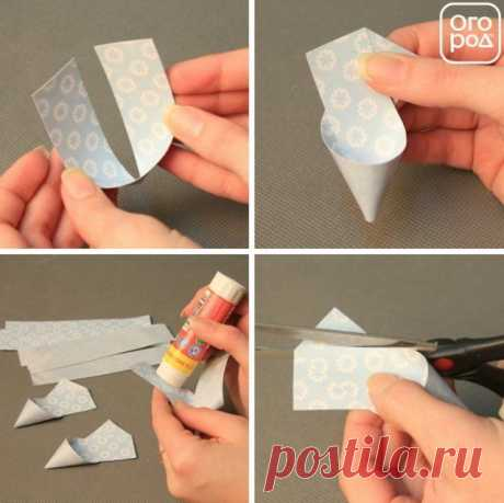 3D - snowflakes: 5 fast options