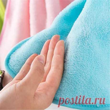 12 хитрых способов, как сделать даже старые махровые полотенца мягкими и пушистыми