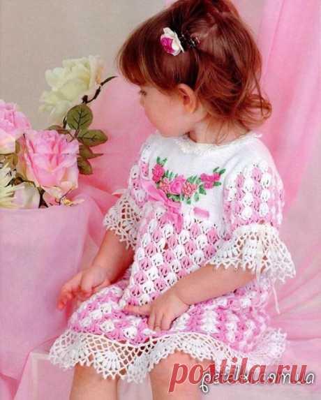 Вяжем детям платья и сарафаны со схемами » Страница 5