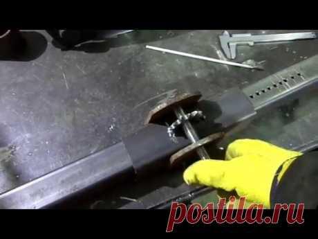 Самодельная стойка для дрели и перфоратора.  Home-made frame for drill - YouTube