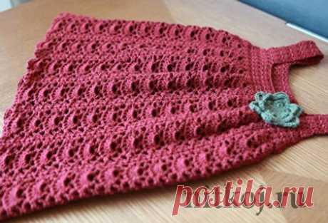 Сарафан для девочки » Ниткой - вязаные вещи для вашего дома, вязание крючком, вязание спицами, схемы вязания