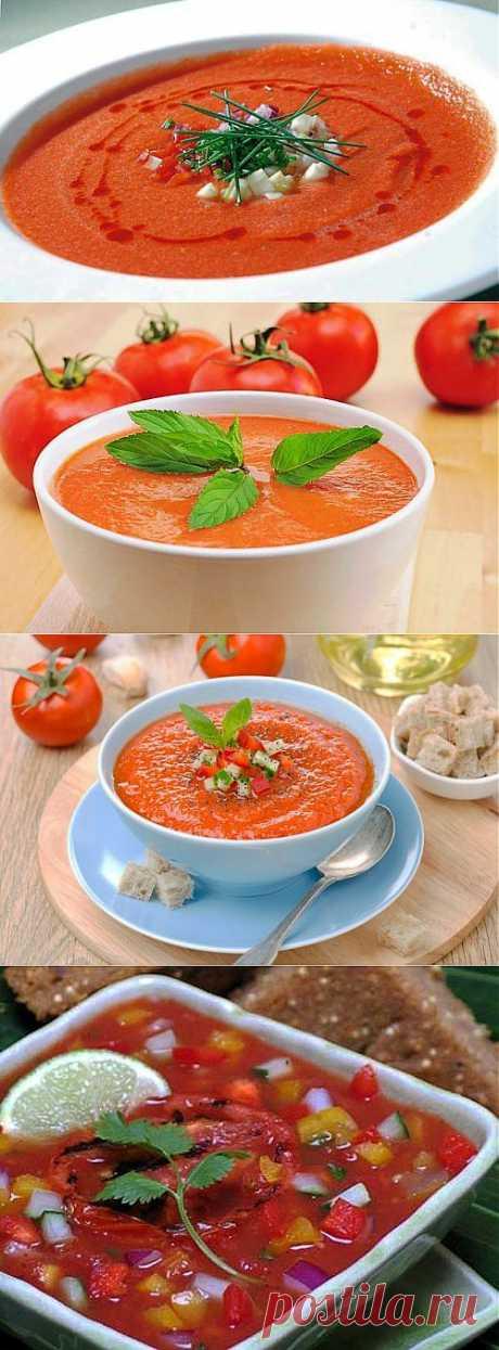 Гаспачо – испанская окрошка! / Простые рецепты