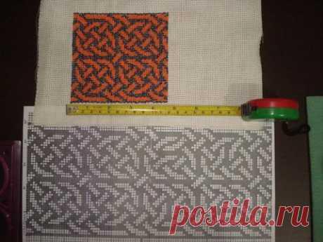 Вышивка по канве (маленькая) | biser.info - всё о бисере и бисерном творчестве