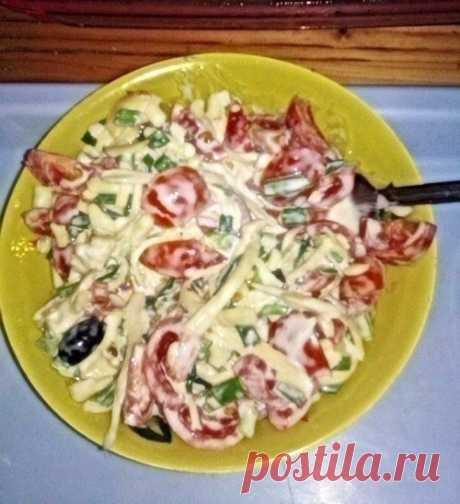 Несложные салатики на каждый день / Свежие рецепты