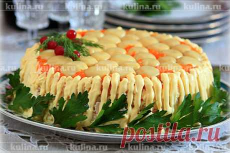 High wire act salad – the recipe of preparation with a photo from Kulina.Ru