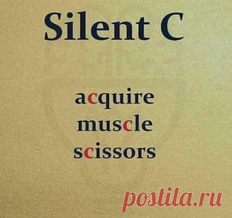 Silent C