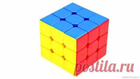 Как собрать кубик Рубика 3х3 самый легкий способ | Детское творчество
