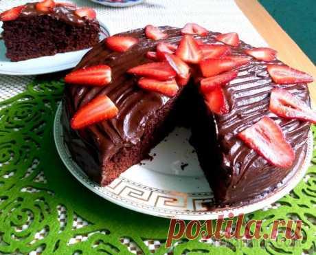 Быстрый шоколадный пирог рецептмука 250 гсода 1.5 ч.лсоль 1 ч.лсахар 300 гкакао 55 гяйца 2 штмасло сливочное 60 гмасло оливковое 60 гванильный экстракт 2 ч.лмолоко 280 млуксус 1 ст.лдля глазури:какао 100 гмолока от 150 млсаха...