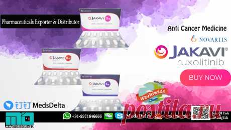 Find Jakavi 20mg Ruxolitinib online from MedsDelta, we are considered to be amongst the finest exporters, suppliers, and wholesalers of an impeccable range of Jakavi Tablet  made by Novartis at wholeasle price. QQ: 3451266709, Call/WhatsApp: +91–9971646666 to learn more about the Jakavi Tablet Online from MedsDelta exporter of quality afford medication to countries including Austria, Bahrain, Bangladesh, Belgium, Bhutan, Canada, Denmark, Finland, France, Germany, Hungry, Italy, Mexico,