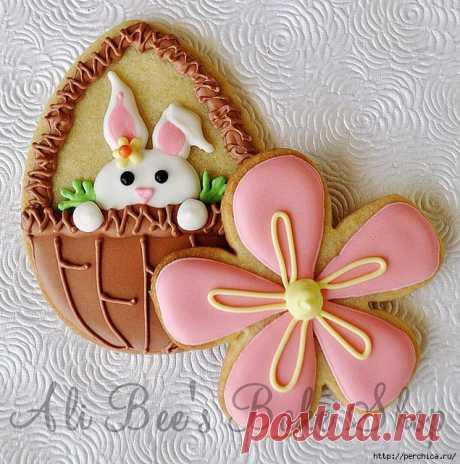 Пасхальное печенье - ну какой же праздник без сюрпризов.Рецепты,советы и идеи