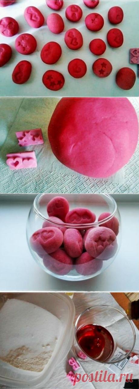 Делаем ароматные камешки для дома