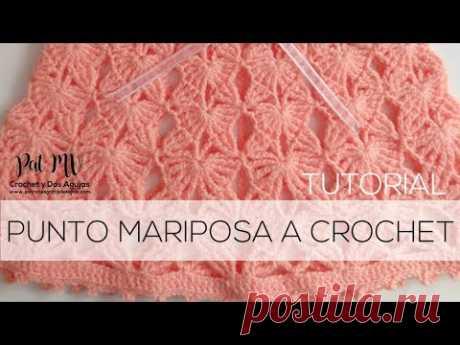 Punto Mariposa Crochet 🦋 Tutorial