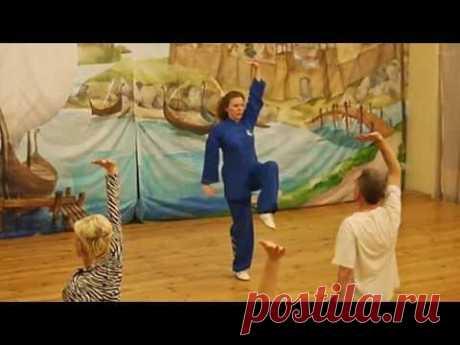 "TAICHI48.RU Цигун ""8 кусков парчи"" (Ба Дуань Цзин) - Елена Романова"