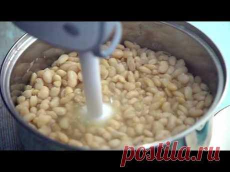 Рецепт фасолевой пасты для цветов bean paste flowers