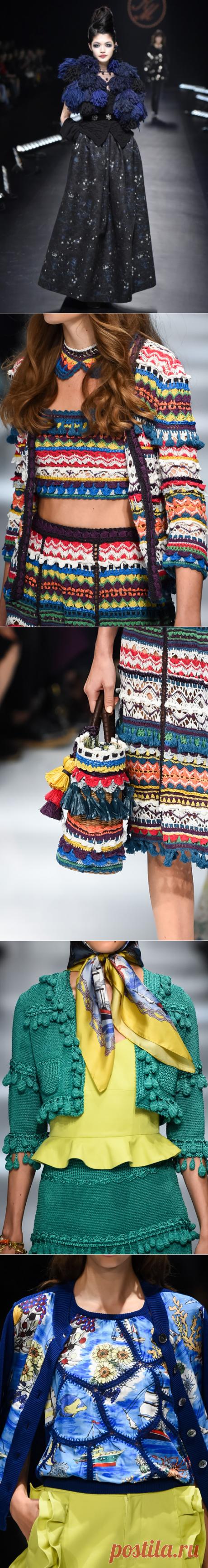 Японска мода KEITA MARUYAMA - Вязание - Страна Мам