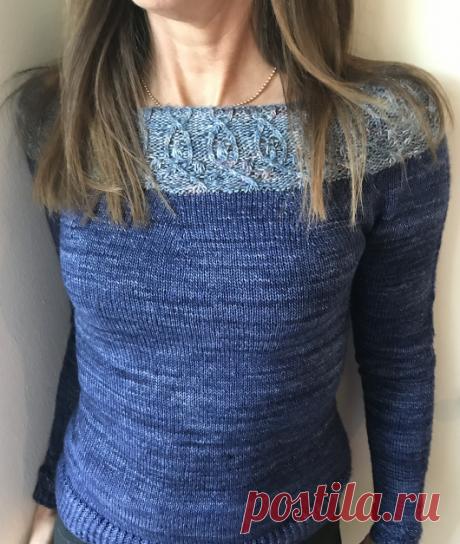 Вязаный пуловерPaisley | ДОМОСЕДКА