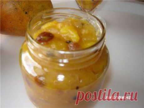 Чатни из манго-Чатни - это острый , пряный индийский соус-приправа.