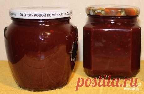 Соус ткемали из терна - пошаговый рецепт с фото на Повар.ру
