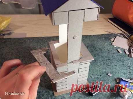 Колодец в стиле шебби шик — Сделай сам, идеи для творчества - DIY Ideas
