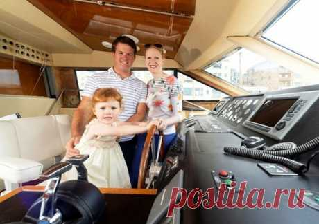 Купить яхту чтобы жить на ней: сбылась мечта британской семьи