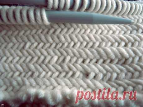 Вязание ёлочкой (мастер-класс) / Вязание / Модный сайт о стильной переделке одежды и интерьера