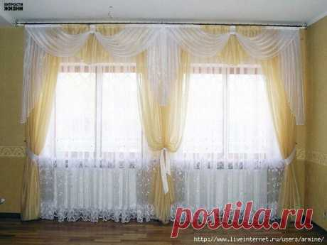 Than to bleach white curtains? 5 useful tips for washing.