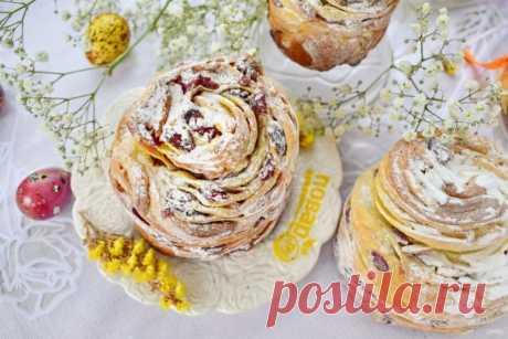 """La rosca de Pascua """"Краффин"""" - poshagovyy la receta de la foto en Повар.ру"""