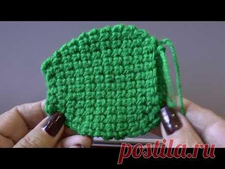 Как связать двойную подошву. Утолщенная подошва крючком. Вязание тапочек. Crochet sole.