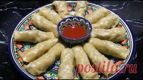 Покоряет сразу, Хоть каждый день подавайте / Хамир хасип  / Узбекская кухня Хамир хасип – это очень вкусное и сытное блюдо узбекской кухниприготовленное на пару. Его можно подавать как на обед так и на ужин для всей семьи  Готовится из простых продуктов, которые найдутся у любой хозяйки. ******************************************* Ингредиенты :  Для начинки : лук -2шт фарш - 400гр соль и специи ( кориандр,зира,паприка,черный молотый перец ) рис (отварить до полуготовн...