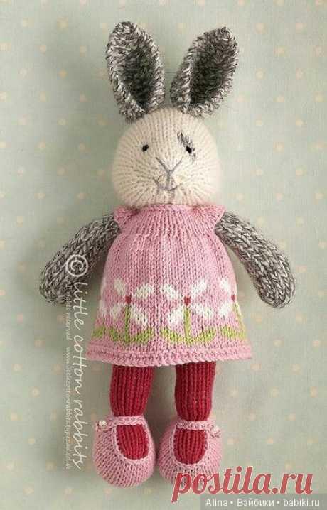 Вязанные игрушки от Julie Williams / Игрушки / Бэйбики. Куклы фото. Одежда для кукол