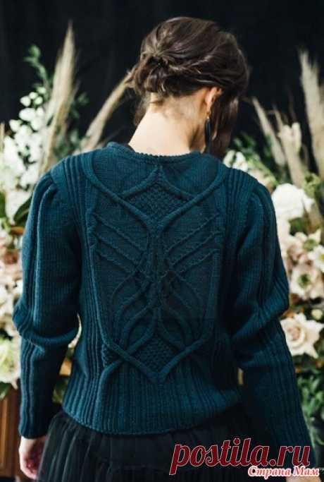. Пуловер Nightingale - Вязание - Страна Мам
