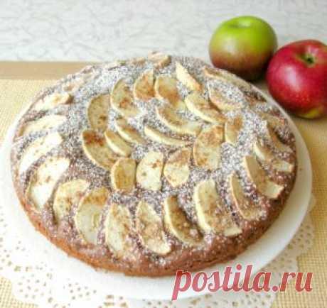 Рецепта проще не найти: смешал, в духовку и пеки! Чудесный шоколадный пирог с яблоками и корицей! / Видео-рецепты / TVCook: пошаговые рецепты с фото