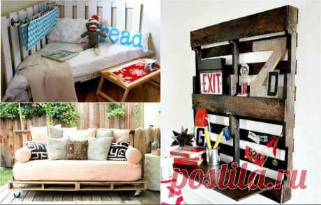 Простые и стильные предметы мебели, сделанные из паллет » Сайт хорошего настроения SiSalya