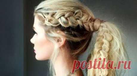 Плетение кос своими руками не такая уж сложная задача. Смотрите пошаговые фото и видео уроки для начинающих по плетению кос на средние и длинные волосы и прически.