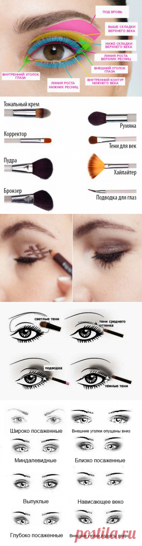 17 cunnings of a make-up of eyes which each girl has to know