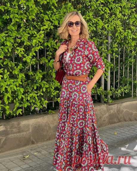 Мода в Instagram или как стильно одеваться в зрелом возрасте: секреты стиля от испанки Майки Хауреги | LADY DRIVE 🎯 | Яндекс Дзен