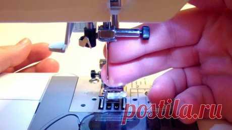 Причины поломки иглы на швейной машине