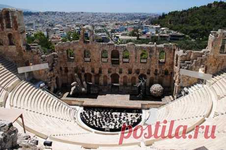 10 удивительных древних театров, которые вы можете посмотреть.