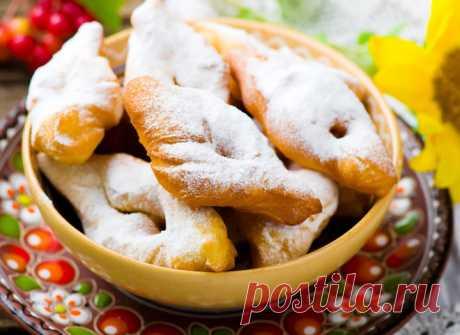 Вергуны: рецепт на кефире и сметане - tochka.net