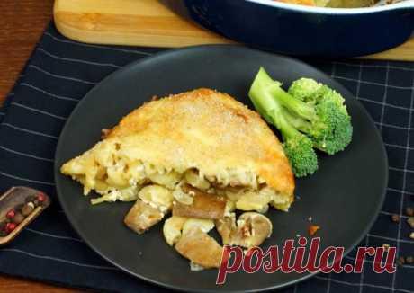 (7) Запеканка с грибами и макаронами - пошаговый рецепт с фото. Автор рецепта ALEKSANDR🏃♂️ . - Cookpad