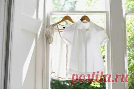 Как избавиться от жёлтых пятен на белой одежде (более чем эффективный метод без применения химии) | Pro еду | Яндекс Дзен