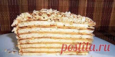 «Торт «Cекунда» без выпечки»