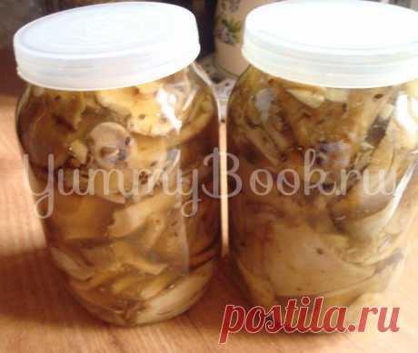 Salty mushrooms (cold way) - the step-by-step recipe with a photo